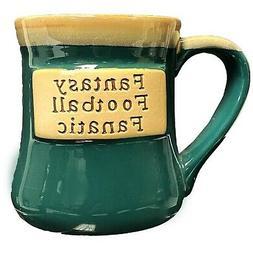 Fantasy Football Fanatic Ceramic Mug - Tumbleweed Pottery