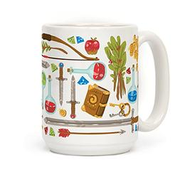 Fantasy RPG Adventurer Kit 15 OZ Coffee Mug by LookHUMAN