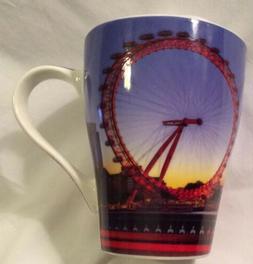 The Leonardo Collection Fine China British London Eye Mug Cu