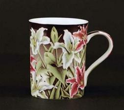 Euland China FL0-002T Set Of Two 12-Ounce Mugs - Tiger Lily