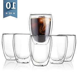【Flash Deal】Sweese 4302 Glass Coffee Mugs, Double Wall I
