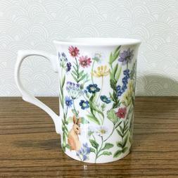 Floral Coffee Cup Mug Stechcol Gracie Bone China 10 oz Flowe