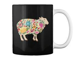 Floral Sheep N Gift Coffee Mug