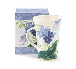 Forget Me Not Flowers 13 oz Ceramic Mug