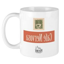 CafePress Frasier: Cafe Nervosa Mug 11 oz Ceramic Mug