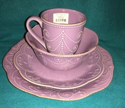 Lenox French Perle Violet 4 Piece Place Setting Brand New