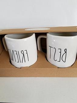 Rae Dunn by Magenta BEST FRIEND mug Set
