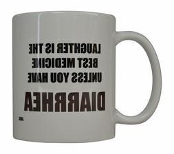 Funny Coffee Mug Laughter IS Best Medicine Novelty Gift Nurs