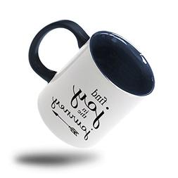 """Style In Print """"Find Joy In The Journey"""" Funny Coffee Tea Co"""