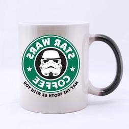 funny designed star wars coffee