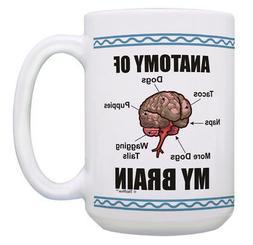 Funny Dog Mug Naps Tacos and Dogs Coffee Cup Humor Gifts 15o