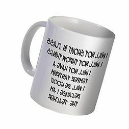 Best funny gift - 11OZ Coffee Mug - Good teacher, school - P