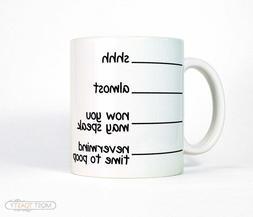 Funny Mug Coffee Mug with Lines Funny Gift for Men or Women