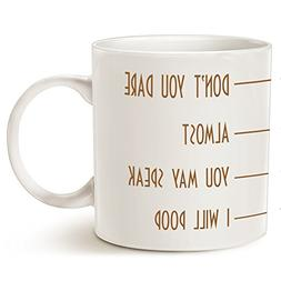 Funny Quote Poop Coffee Mug Father's Day and Mother's Day Gi