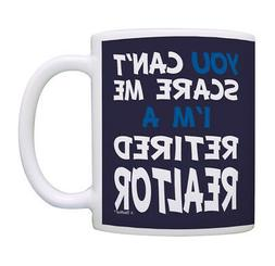 ThisWear Funny Realtor Gifts Can't Scare Me I'm a Retired Co