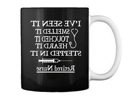Funny Retired Nurse Gift Coffee Mug
