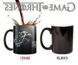 Game of thrones mugs house stark Tea hot heat sensitive mug