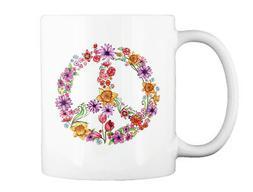 Garden Floral Peace N Gift Coffee Mug