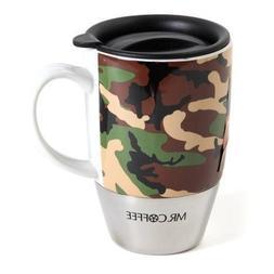 Gbsn Trvl Mug Grn Camo Co Size 15z Gbsn Travel Mug Green Cam