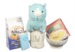 Get Well Gift Set Rae Dunn Bowl and Mug Bundle Be Well Ice C