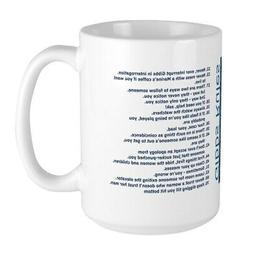 CafePress Gibbs Rules NCIS Mugs Large Mug