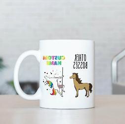 Gift For Boss Boss Gifts Boss Mugs| Funny Boss Unicorn Mug W