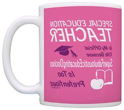Gift for Special Education Teacher Gift Official Title Coffe