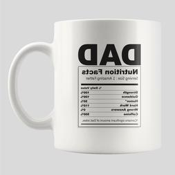 Gifts for Dad from Daughter or Son - Fathers Day Mug Nutriti
