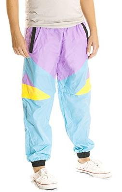 Funny Guy Mugs Gnarly Windbreaker Pants, Large