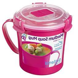 Sistema To Go Collection Microwave Soup Mug, 22 oz./0.7 L, P