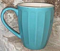 Sweese 14 Ounce Fluted Coffee Tea Mug Gorgeous Powder Blue R