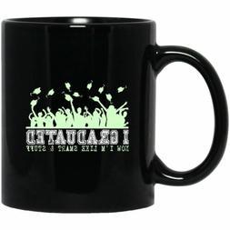 Graduation Gift Black Coffee Mugs