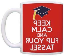 Graduation Gifts Keep Calm Flip Your Tassel College Graduate