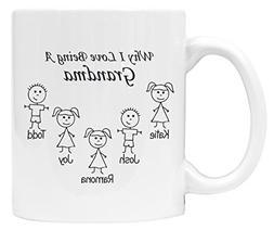 Grandparents Christmas Gift Coffee Mug, Grandma Gifts, Grand