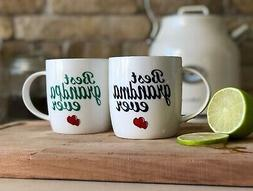 Janazala Best Grandparents Ever Coffee Mugs, Anniversary Gif
