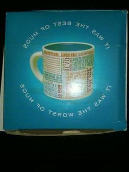 Great Lines Of Literature Mug