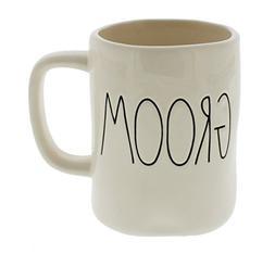 Rae Dunn by Magenta GROOM Ceramic Coffee Mug