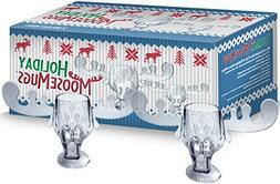 Holiday Moose Mugs - Christmas Vacation Inspired Box Set Of