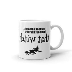 Halloween Witch Coffee Novelty 100% that Witch Mug