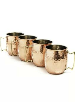 AVS STORE ?Handmade Pure Copper Hammered Moscow Mule Mug  by