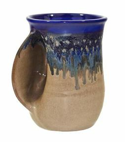Clay in Motion Handwarmer Mug Right Handed Ceramic Coffee Mu