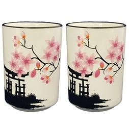 Happy Sales HSCM-TCBWP2, Perfect 2 pc White and Pink Blossom