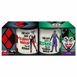 DC Comics Harley Quinn And The Joker 12 oz Coffee Mug 2 pack