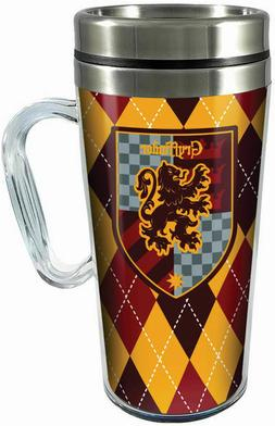 Harry Potter Acrylic & Stainless Steel Travel Mug with Handl