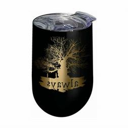 Harry Potter Always 14 oz Stainless Steel Wine Tumbler Mug