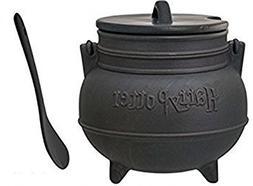 Harry Potter Black Cauldron Ceramic Soup Mug With SpoonGY#58