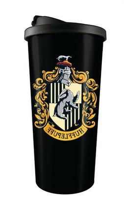 Harry Potter Hufflepuff 16 oz Stainless Steel Travel Tumbler