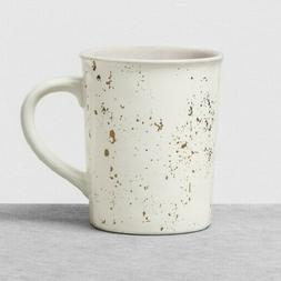 Hearth & Hand Large White Speckled Stoneware Mugs  Set of 4