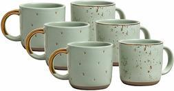 Hearth & Hand Magnolia Mini Coffee Mugs Set 2 Speckled Light