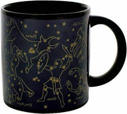 Heat Change Gold Star Constellation Mug - Gift Coffee Cup Ne